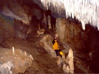 Practice caving in Tarragona