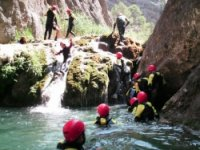 Practice the canyoning with us