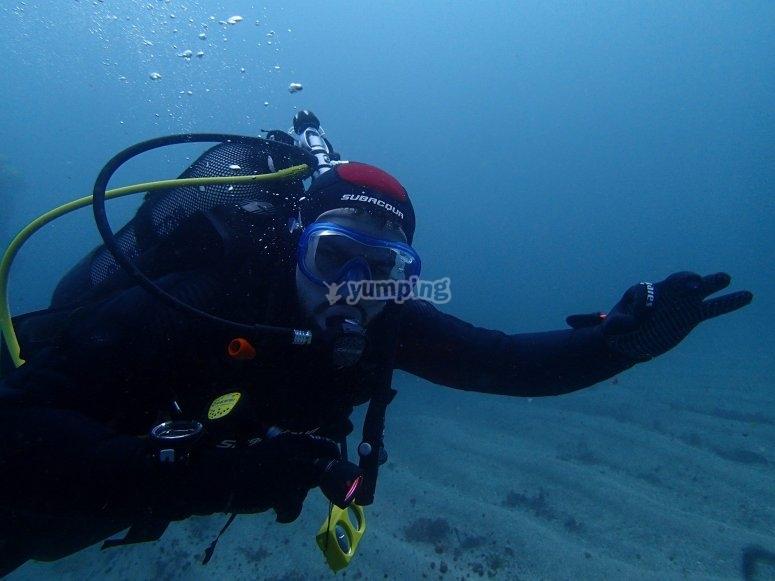在卢戈潜水