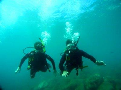 Bautismo de buceo en la costa de Málaga 2 horas