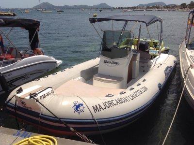 Paseo en barco Capelli 690 en Pollença 4h