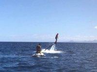 Flyboard en el Mediterráneo