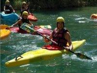 kayak de aguas bravas y de aguas tranquilas
