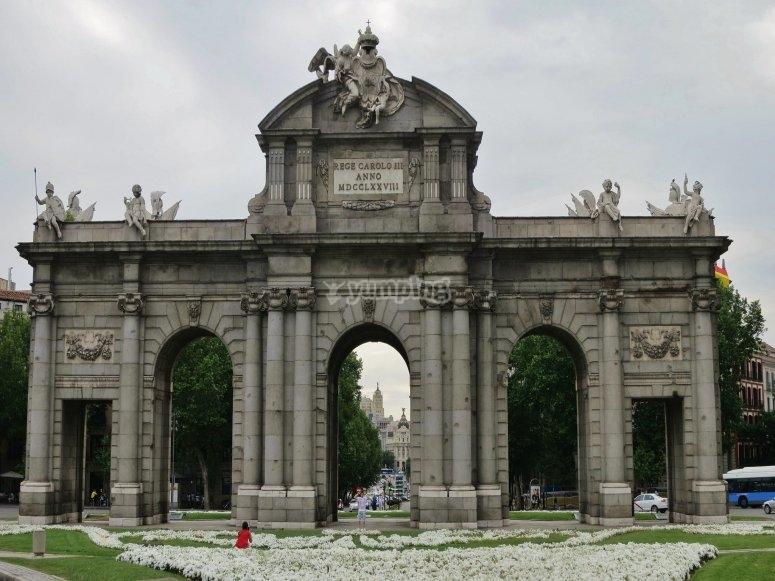 Visita guiada Puerta de Alcalá
