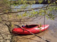 Kayak listo para partir