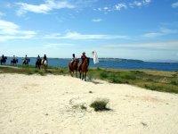 Ruta a caballo por la costa gallega