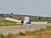 Taking off from Los Garranchos