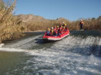 Rafting on the Segura River
