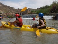 Canoeing on the Segura River