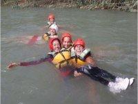 clase en el agua