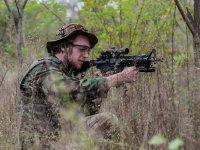 Equipacion militar de laser tag