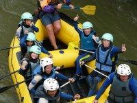 Rafting familiar en Alto Ebro de Arroyo a Batasur