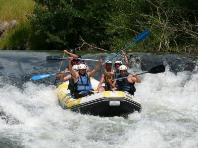 Rafting in Alto Ebro - Cantabria - 9 km