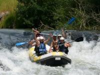 Rafting en el Alto Ebro 9 km. Cantabria