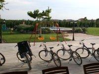 摩托四边形为我们的自行车越野路线