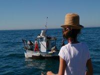 Costa del Sol船渔民的路线