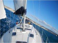 标志享受最好的travesias帆船学校