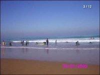 Escuela en la playa de Sopelana