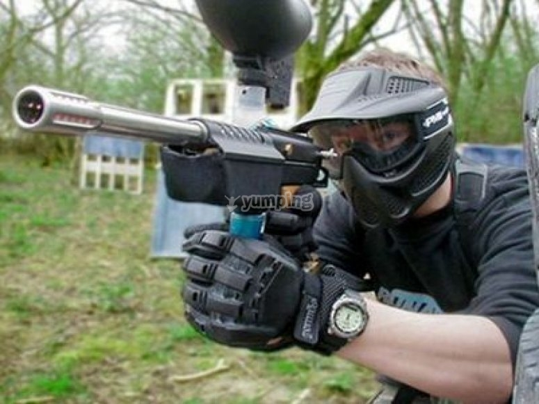 Paintball in Cantabria