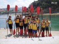 Cursos de kayaks en Sopelana
