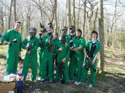 Paintball 300 bolas en Arroyo. Cantabria