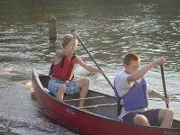 Navega en canoa biplaza