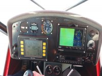 Control of the plane's controls