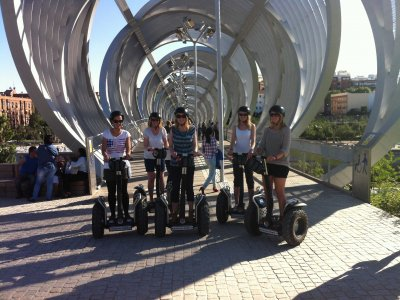 Segway route of Madrid Río for 2 hours