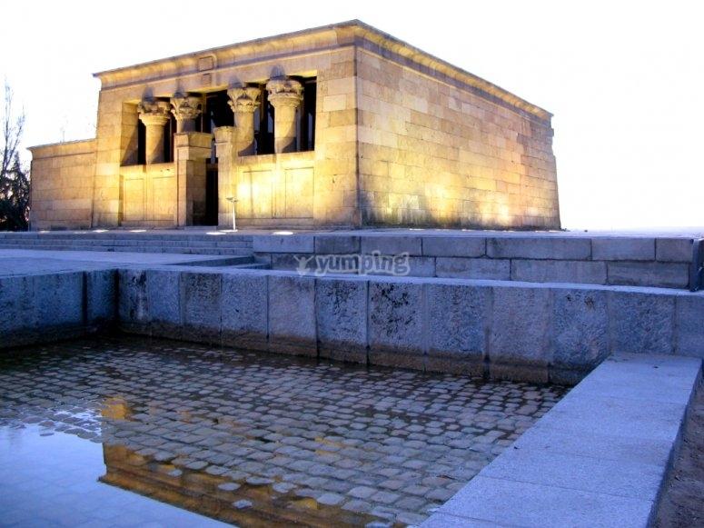 Debod's temple
