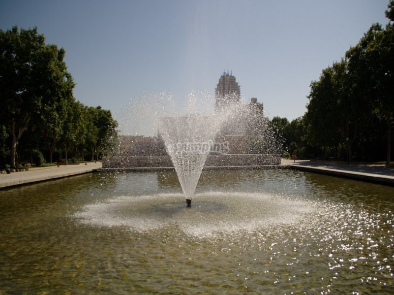 Fountain in Debod's Temple