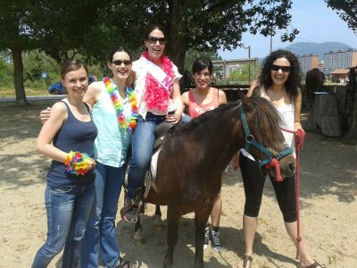 Horse Riding Route, Stag Party, Laredo beach