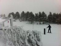 Raquetas de nieve en Gredos