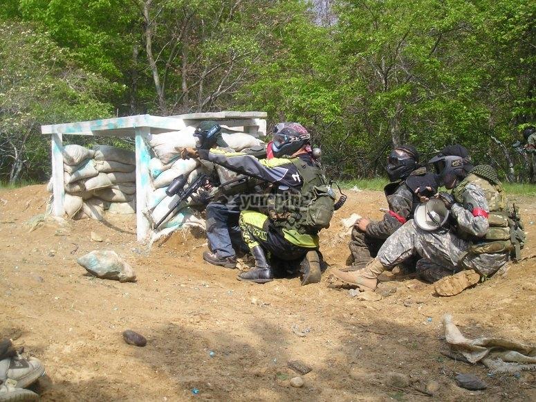 En el campo de batalla