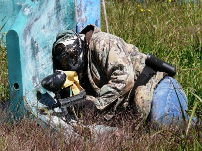 Paintbal 400 bolas en Arroyo. Cantabria