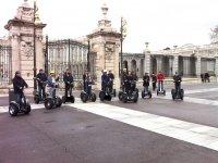 En segway junto al Palacio Real