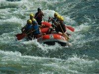 Aguas bravas para hacer rafting