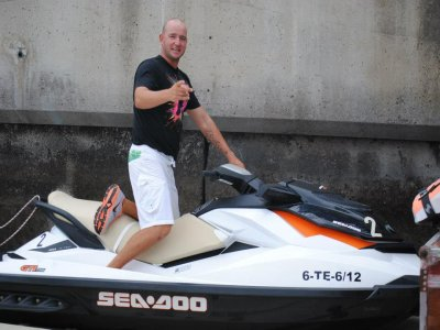 Ruta en moto de agua individual Tenerife 40min