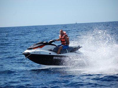 Excursión en moto de agua biplaza Tenerife 2 horas