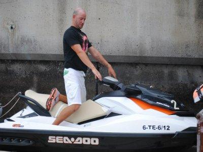 Excursión en moto de agua biplaza Los Gigantes 3h