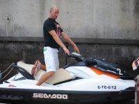 Ruta en moto de agua por Los Gigantes