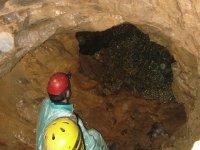 Nacimiento del río en la cueva