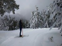 Esquiando