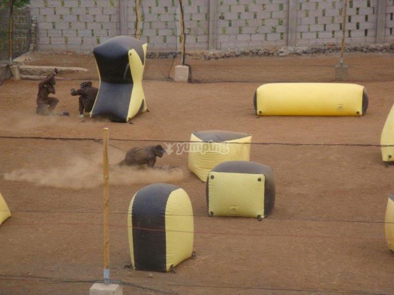 Paintball para residentes canarios