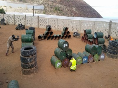 Paintball and 100 balls, Guimar, residents offer