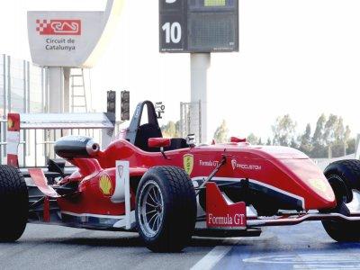 Pilotar un fórmula 3 en Monteblanco 1 vuelta