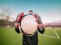 Con el balón entre las manos