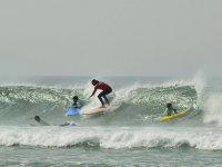 2 horas de clase de surf en Sanxenxo