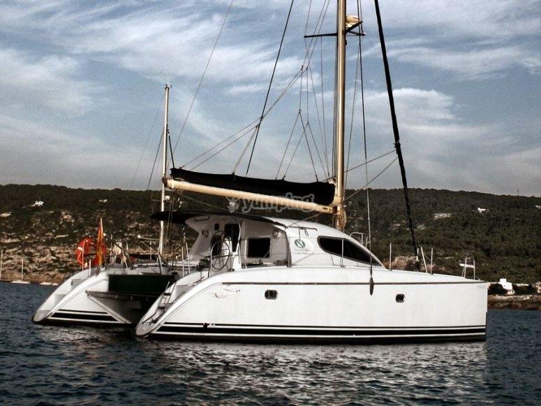 El catamarán