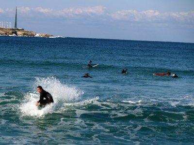 Clase de iniciación de surf 2h 30' Playa del Orzán
