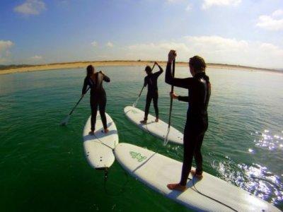 2 ore di percorso di paddle surf a Sanxenxo